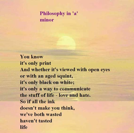 PHILOSOPHY OF POETRY EPUB